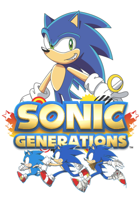 maglietta sonic generation