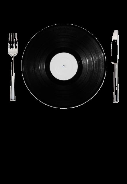maglietta hungry for vinyl