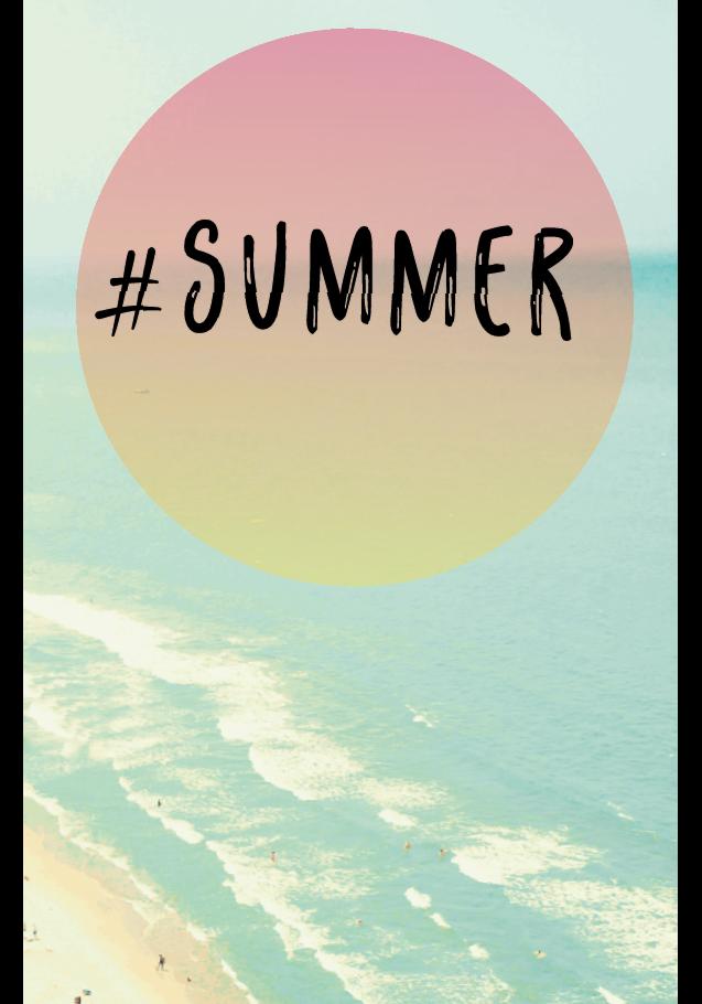 maglietta #SUMMER