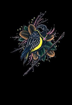 maglietta Bird