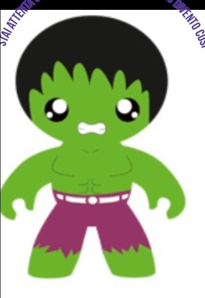 maglietta hulkbaby