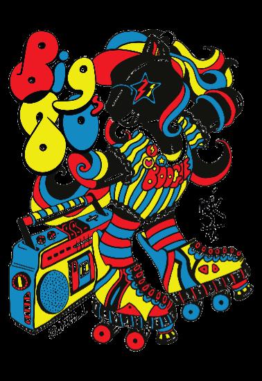 maglietta Boogie 80