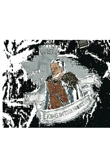 maglietta The king in the north
