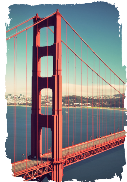 maglietta Golden Gate
