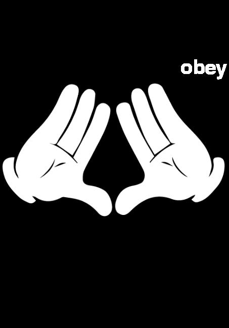 maglietta 'obey'