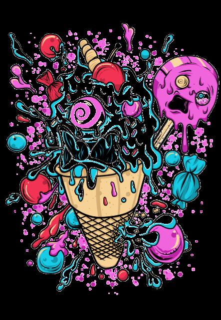 maglietta ICE SCREAM