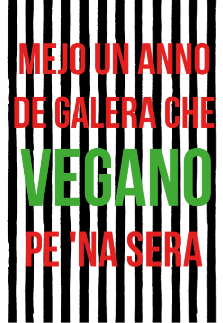 maglietta MEJO UN ANNO DE GALERA CHE...