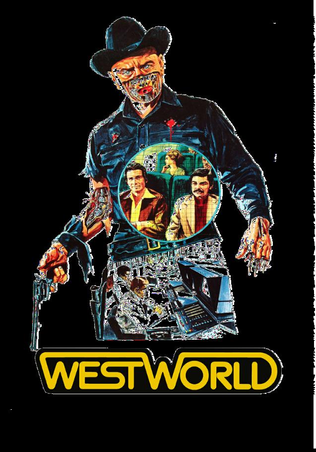 maglietta westworld movie