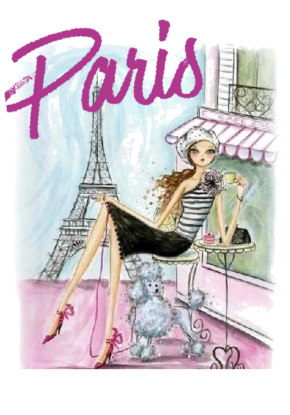 maglietta Paris fashion