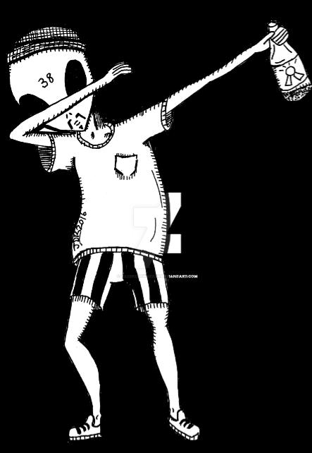 maglietta maglia uomo nera 'alieno DUB'