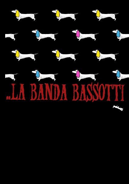 maglietta la banda bassotti