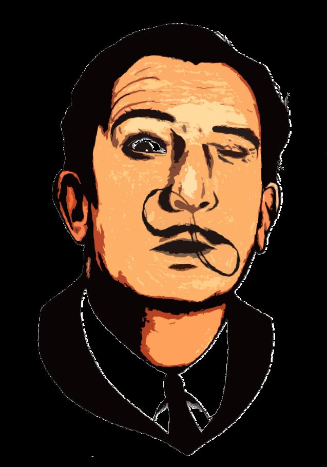 maglietta Salvador Dalì
