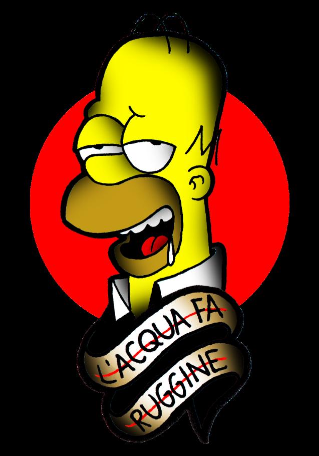 maglietta Homer Simpson