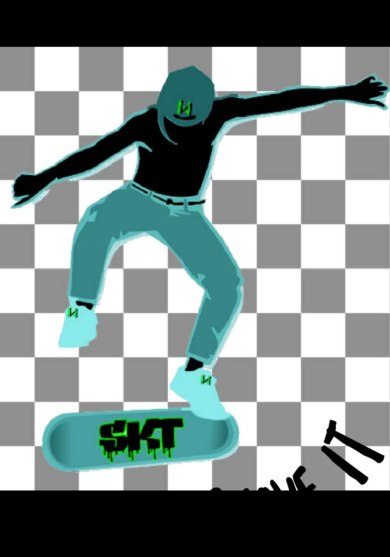 maglietta Skaters