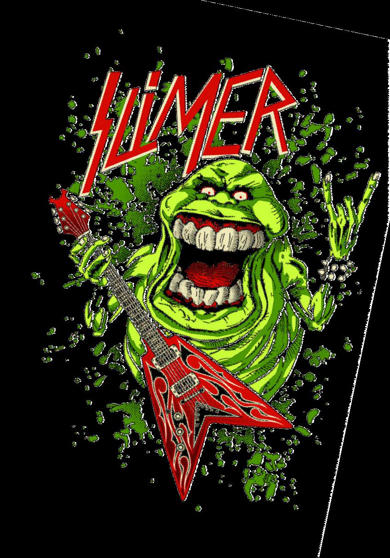 maglietta slayer slimer
