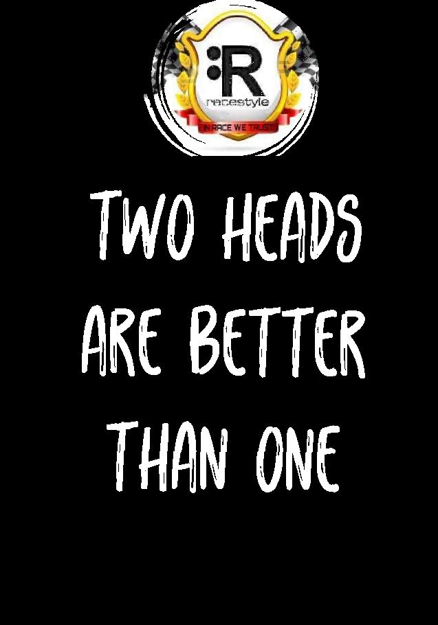 maglietta Racestyle Two Heads