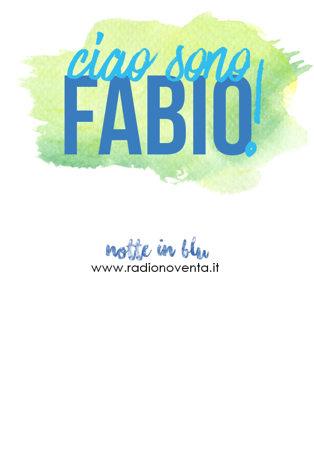maglietta Ciao sono Fabio!