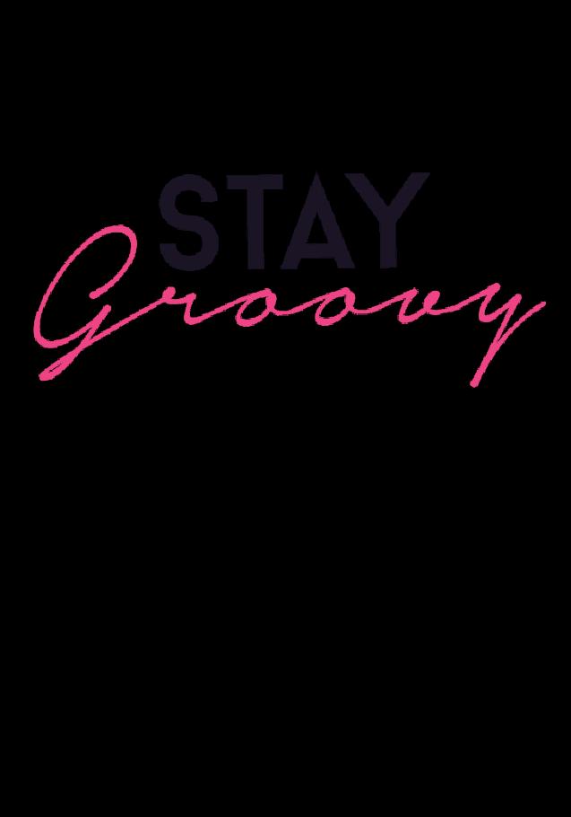 maglietta Stay Groovy