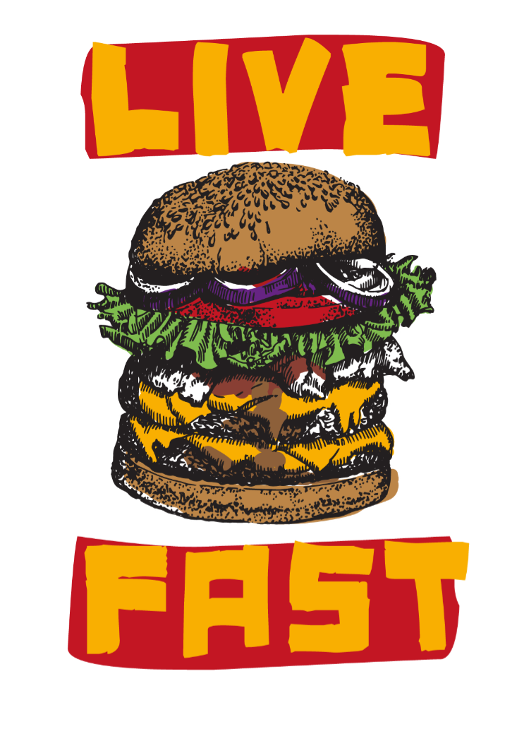 maglietta liveFAST