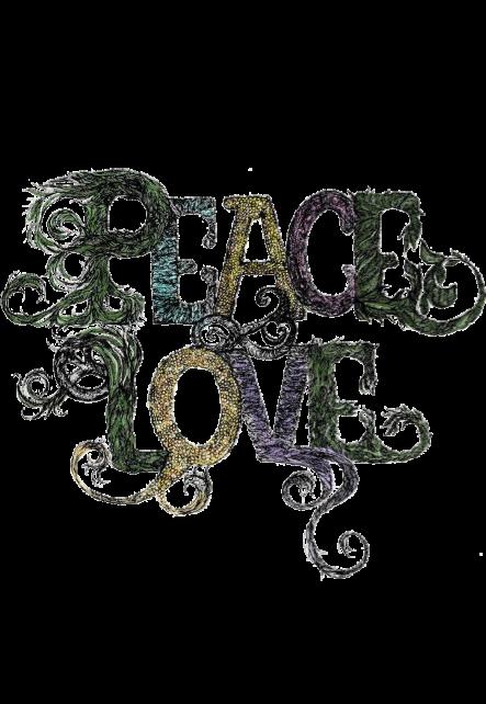 maglietta peace and love