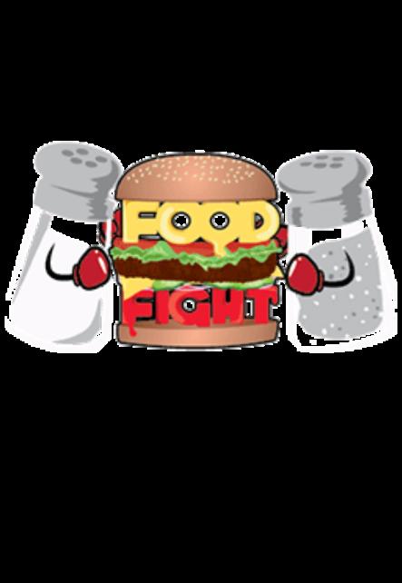 maglietta food fight