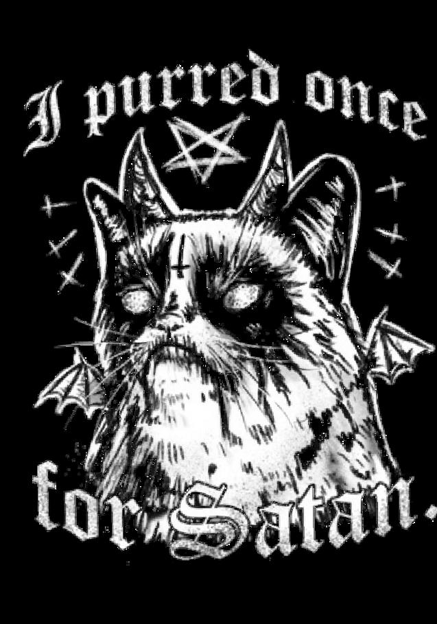 maglietta Grumpy Satan