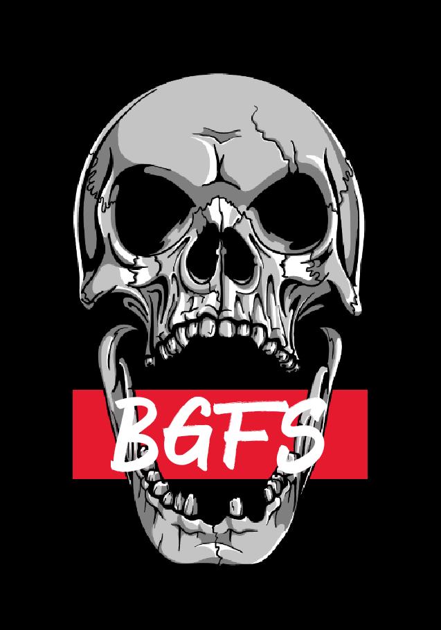 maglietta BGFS: skull t-shirt