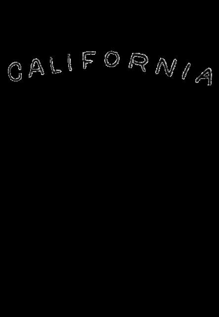 maglietta CALIFORNIA