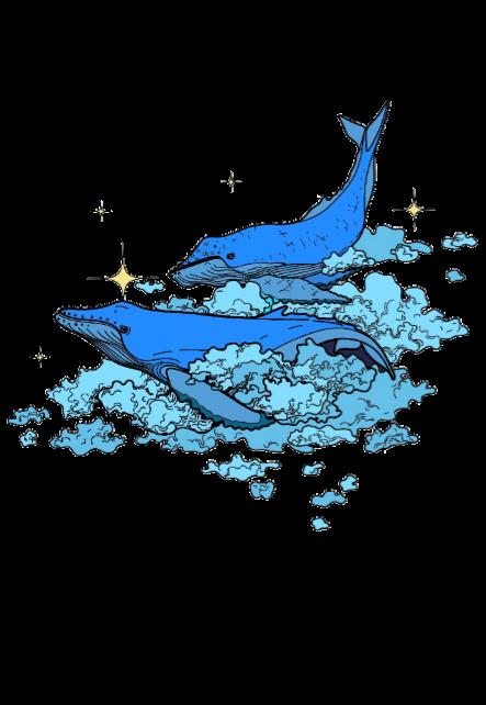 maglietta Whale