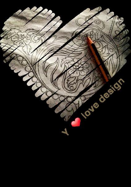 maglietta love design