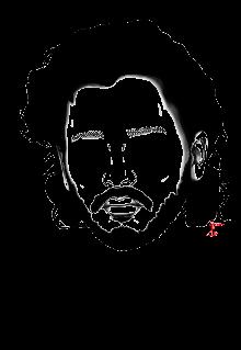 maglietta Kit Harington - Jon Snow