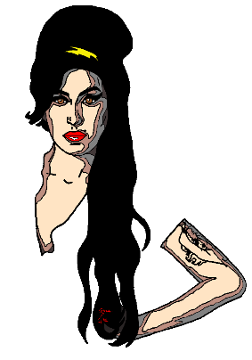 maglietta Amy Winehouse