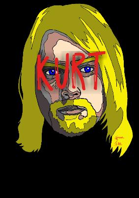 maglietta Kurt Cobain
