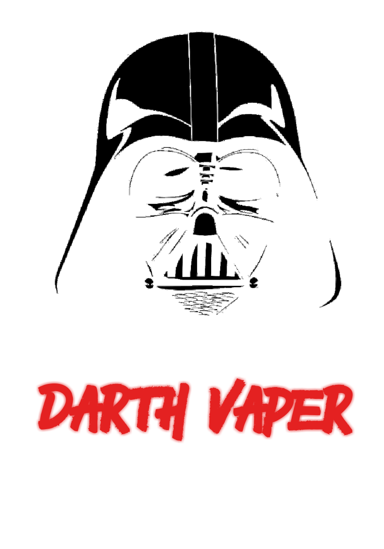 maglietta Darth Vader vaper shirt
