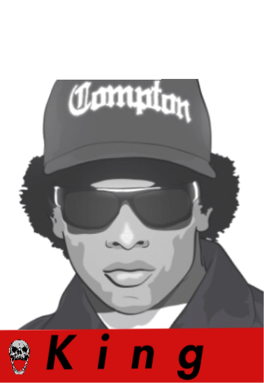 maglietta Eazy E the best