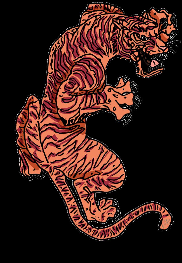 maglietta tiger