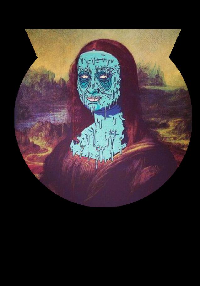 maglietta Mona Lisa