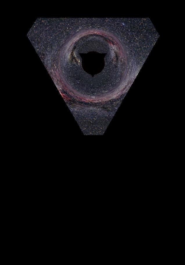 maglietta Triangle - Space
