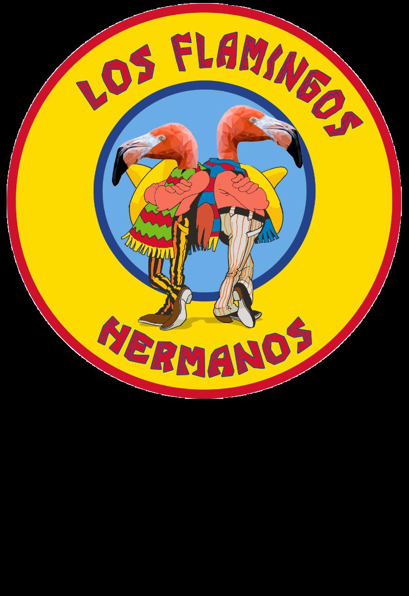 maglietta Los flamingos hermanos