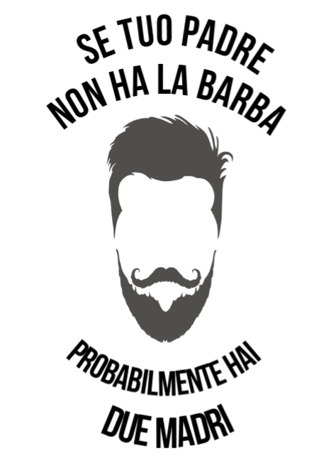 maglietta beard