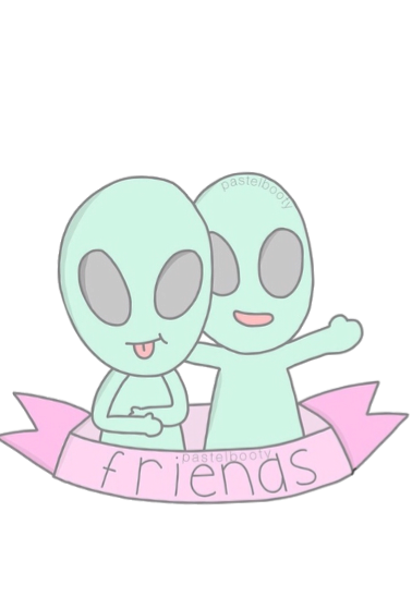 maglietta friend alien