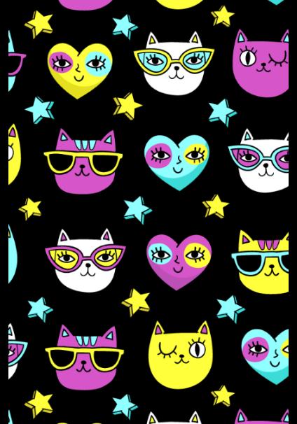 maglietta Funny cats