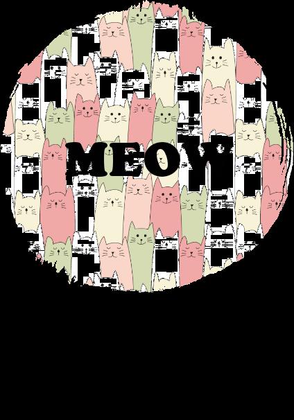 maglietta MEOW