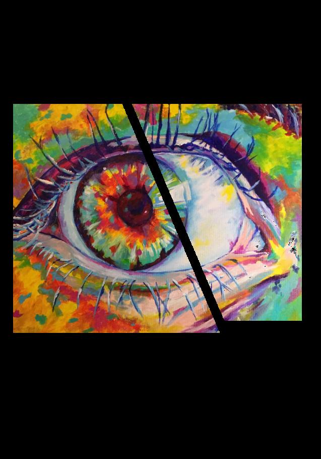 maglietta Color Eyes