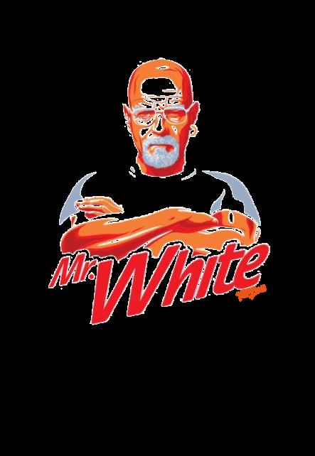 maglietta MISTER WHITE
