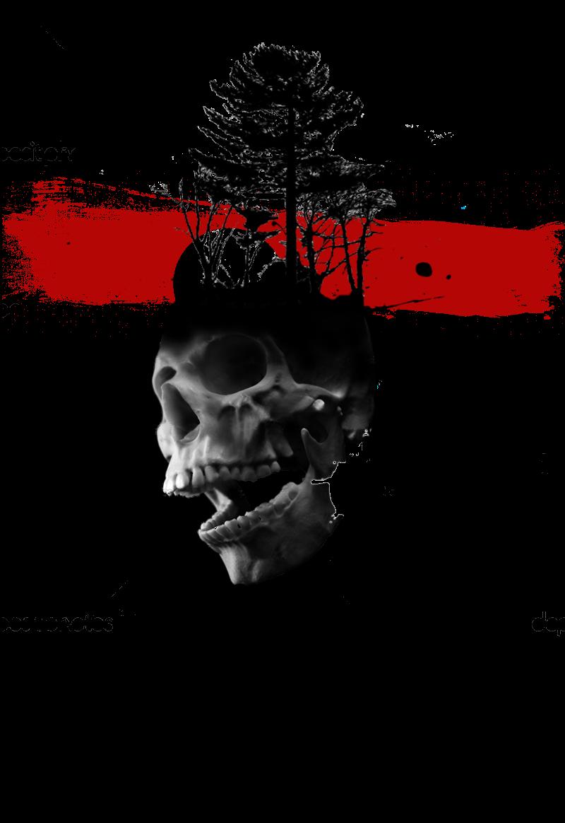 maglietta skull trashpolka