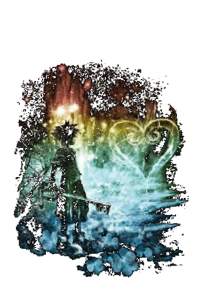maglietta Kingdom Hearts