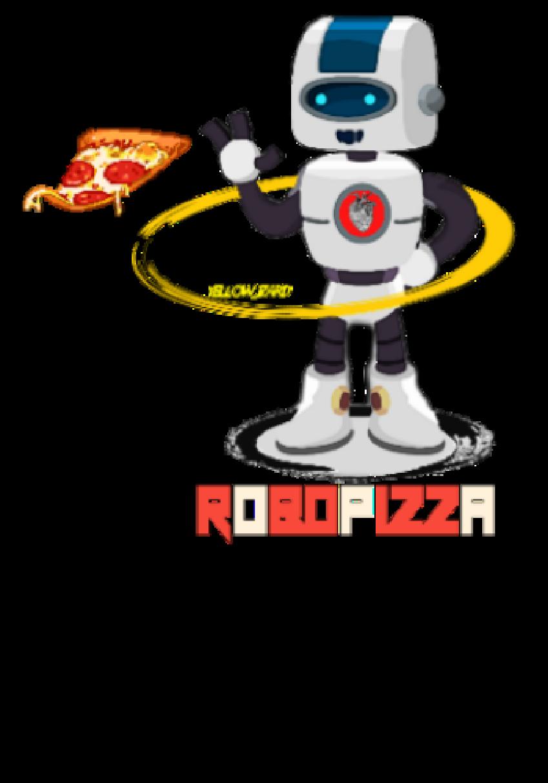 maglietta Robopizza