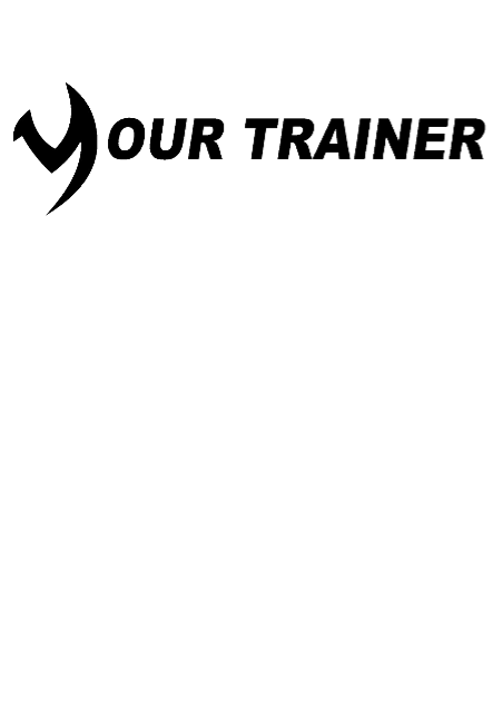 maglietta t shirt your trainer