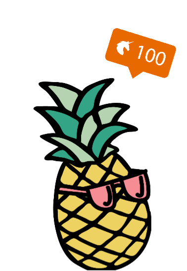 maglietta pineappleT